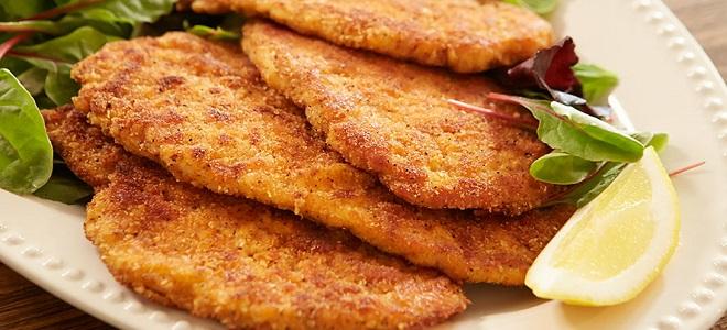 шницель из свинины на сковороде рецепт с фото