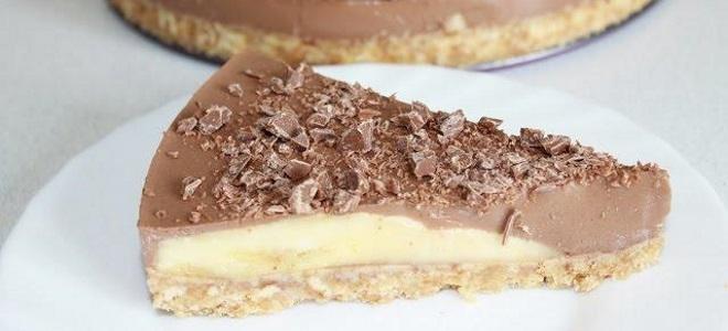 Шоколадный торт без выпечки - рецепты с бананом, из шариков, с печеньем и пряниками