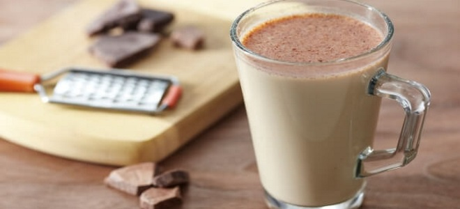 шоколадный молочный коктейль рецепт