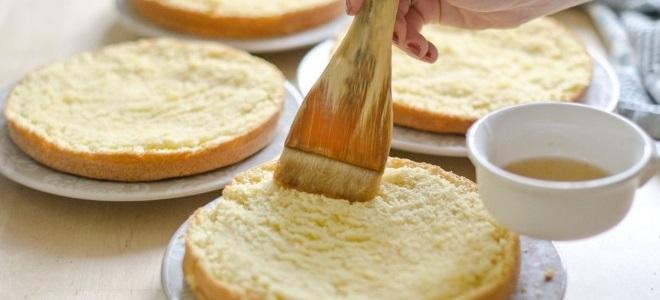 Как сделать сахарный сироп в домашних условиях для торта