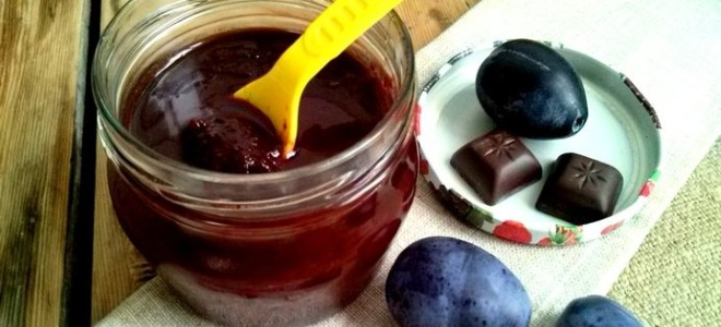Слива в шоколаде на зиму - рецепт