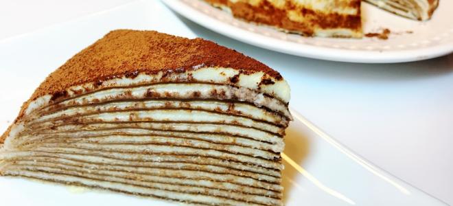 как приготовить торт из блинов с банановой пропиткой