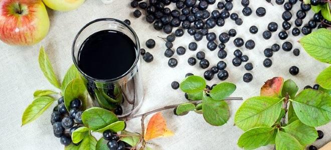 Как сделать сок из черной рябины