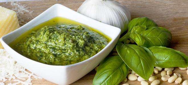 Как приготовить соус песто с базиликом