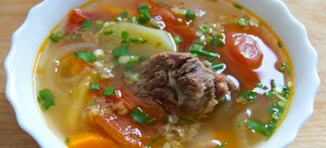 суп харчо из говядины с картошкой