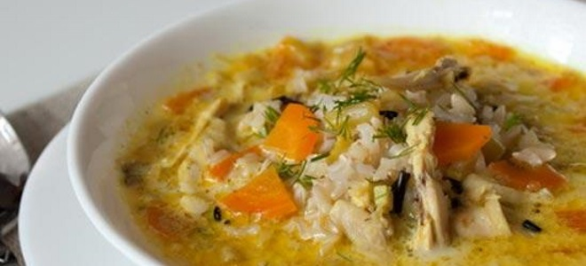 Суп из мяса индейки рецепт