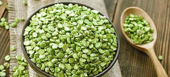 сушка зеленого горошка на зиму