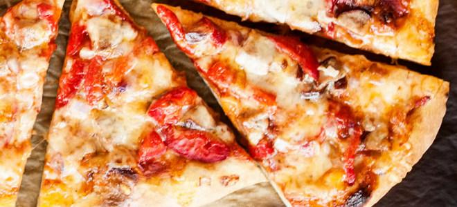 Тесто для пиццы без дрожжей на сметане