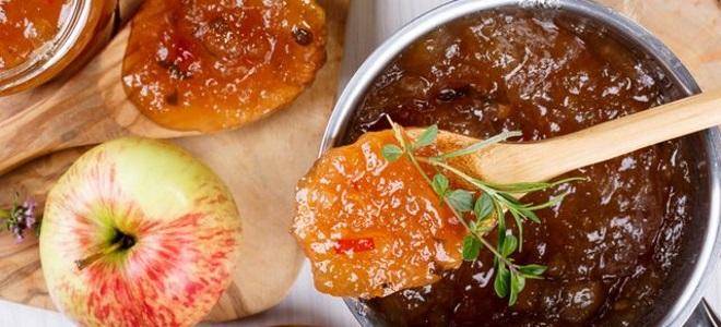 Ткемали из яблок - рецепт на зиму