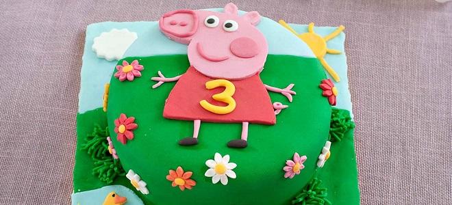 торт поросёнок джордж рецепт детский