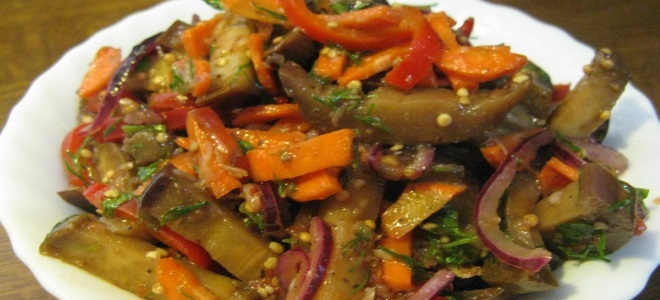 турша по армянски с баклажанами рецепт