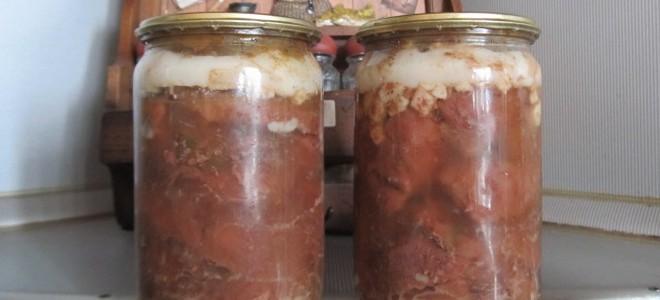 как приготовить тушенку тушенку из говядины и как хранить