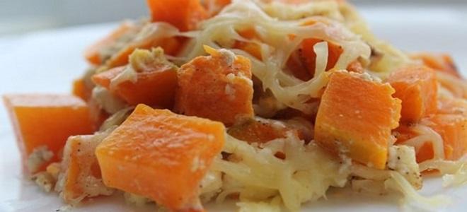 тыква с сыром запеченная в духовке