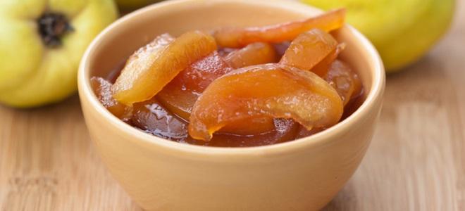 айва с лимином рецепт варенья