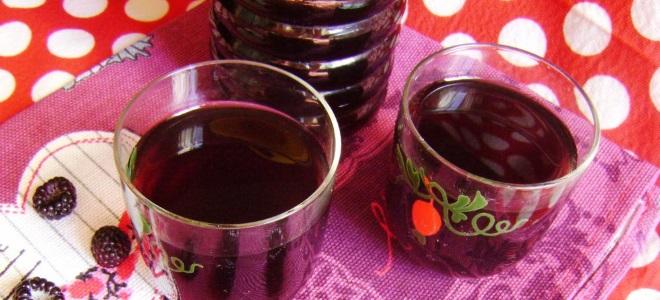 вино из ежевики с изюмом