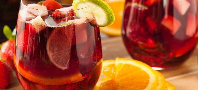 Вино из фруктового сиропа
