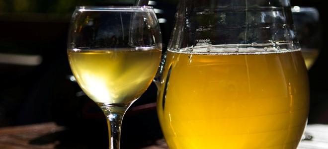 Вино из грушевого сока