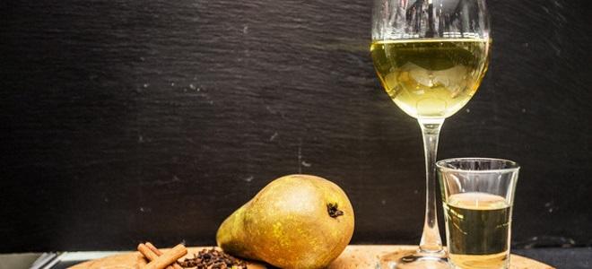 Вино из грушевого варенья