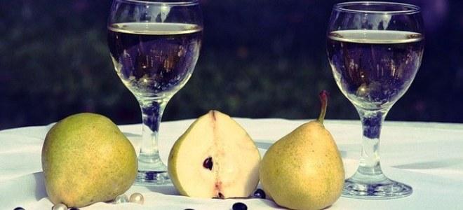 Вино из недозрелых груш