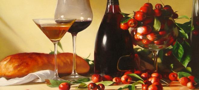 вино из ранеток