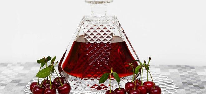 вино из вишневого сока