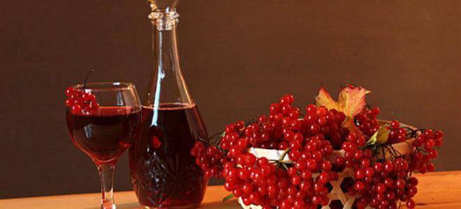 вино из жмыха калины