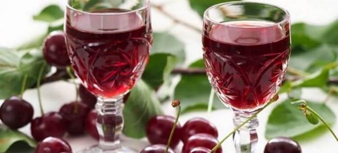 вишневая наливка без алкоголя