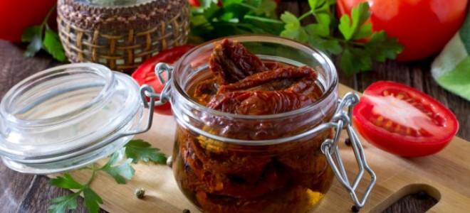 Вяленые помидоры в масле – рецепт