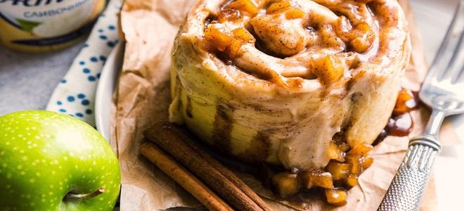 Булочки Синабон с вишней - рецепт пошаговый с фото
