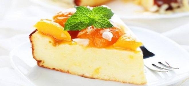 Рецепты творожной запеканки в духовке без манки рецепт