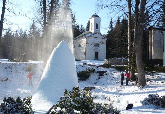 Зимний отдых в Карловой-Студанке