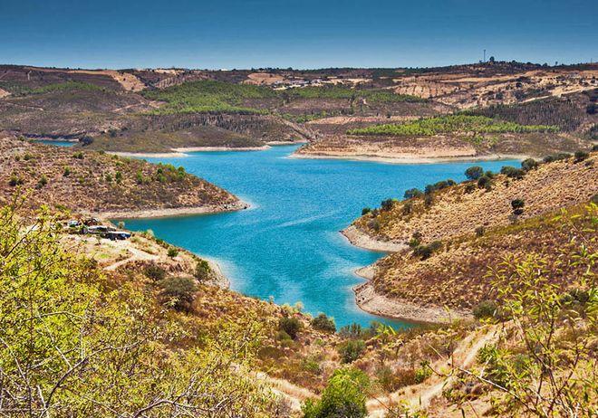 Река Голубой дракон (Оделейте), Португалия