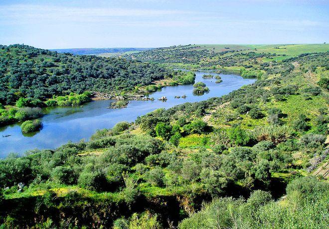 Река Гвадиана, Португалия