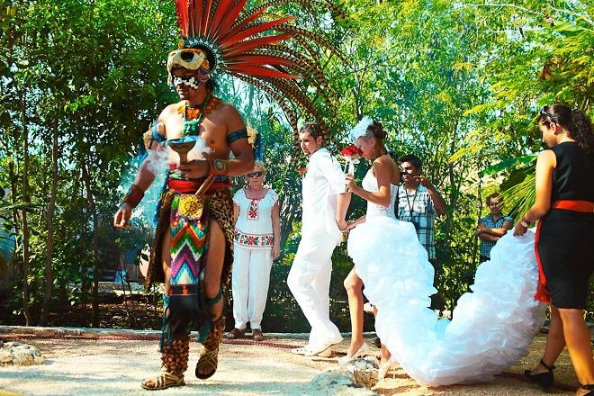 Индейская свадьба