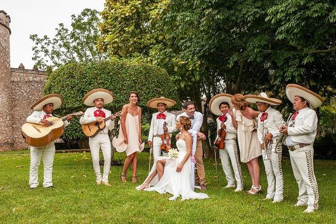 Традиционная свадьба в Мексике