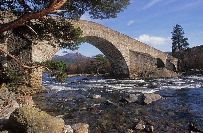 Река Ди, Шотландия