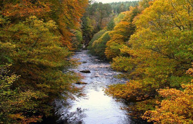 Река Финдхорм, Шотландия