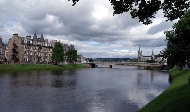 Река Несс, Шотландия