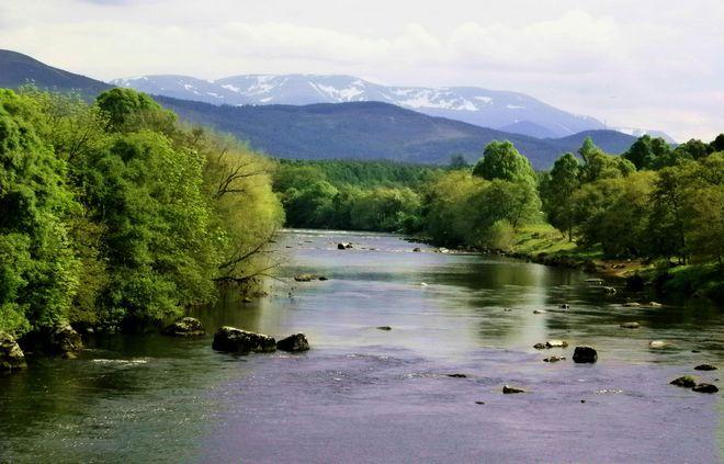 Река Спей, Шотландия