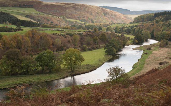 Река Туид, Шотландия