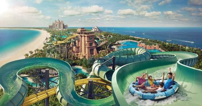 Самый большой аквапарк в мире, Москве, Турции, Дубае. Где находится лучший крытый и открытый аквапарк. Рейтинг, фото