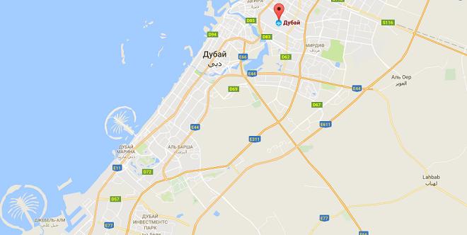 Карта аэропорт дубай стоимость путевки в дубай на 10