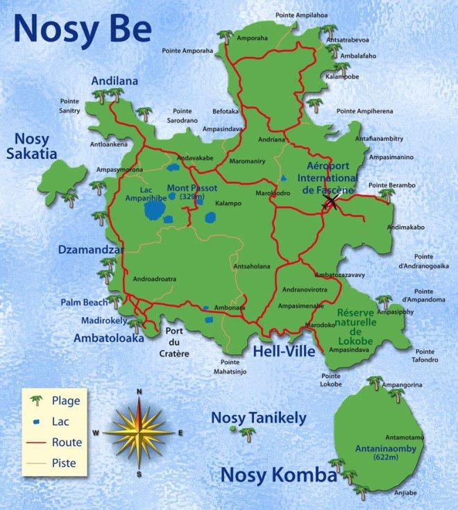 Карта Нуси-Бе