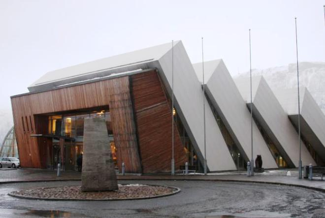 Музей Полярия Тромсе Тромсе muzey polyariya