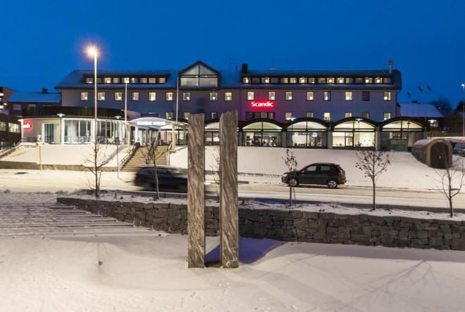 Отель Scandic Vadsø