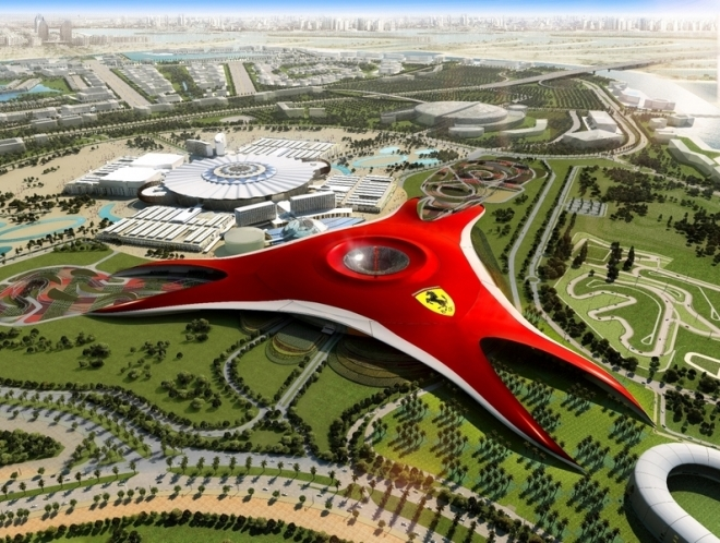 Парк Ferrari World в Абу-Даби