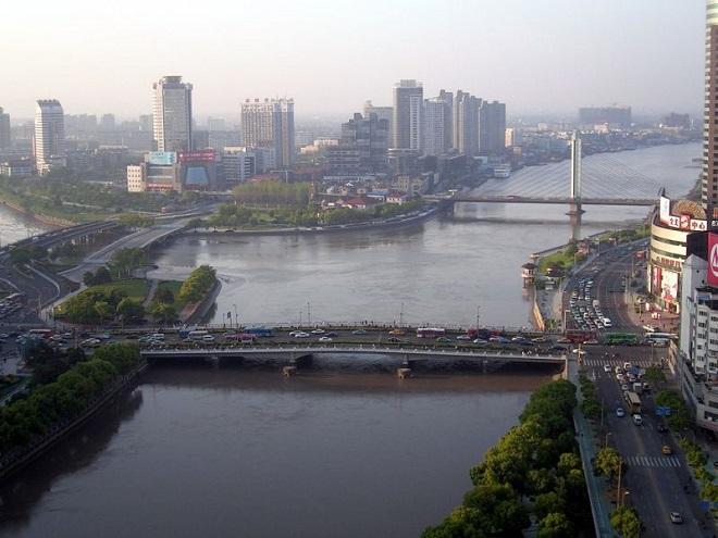 Река Синано - самая длинная река Японии