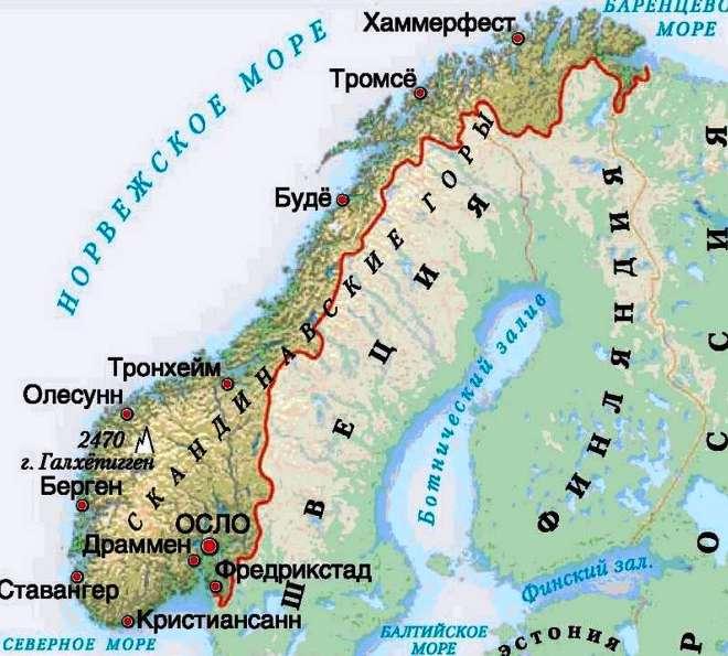 Тромсё на карте Тромсе Тромсе tromsyo na karte
