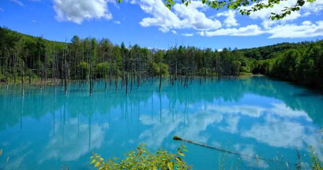 Озера Японии
