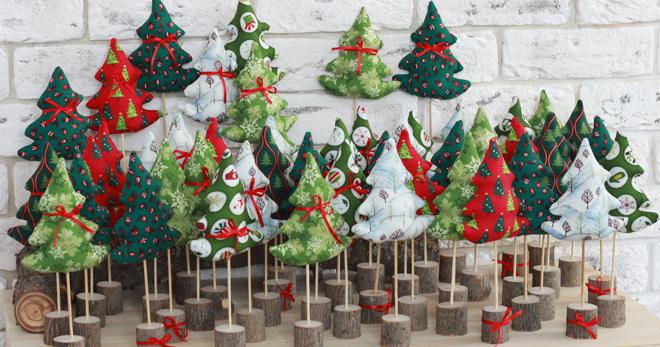 Новогодние сувениры – оригинальные подарки из ткани, конфет, бумаги и других доступных материалов